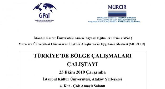 MURCIR - GPOT BÖLGE ÇALIŞMALARI KONFERANSI (23.10.2019)