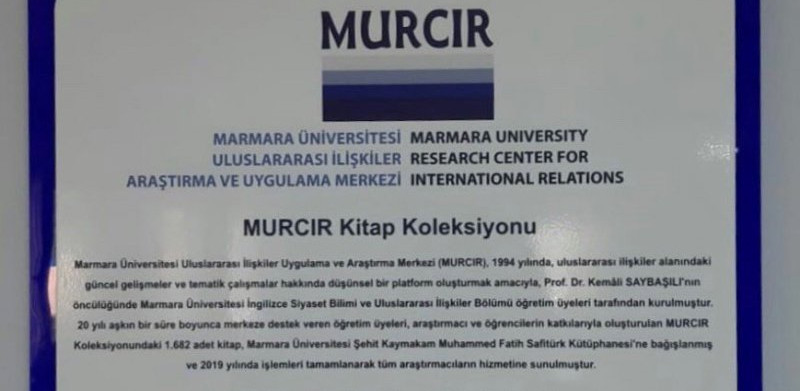 The MURCIR Collection is open for use in our library on the Anadoluhisarı Campus!